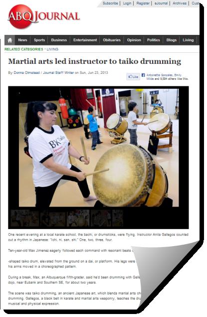 Abq Journal article snapshot
